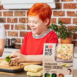 Lapsikin osaa valmistaa Komero-paketin