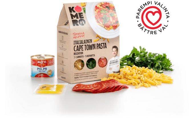 Komero Cape Town pasta